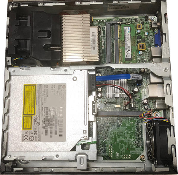 Windows7をWindows10に乗せ換え HPパソコン