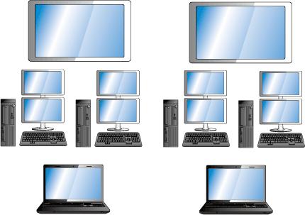三浦市 市場PC構成LAN構築 様