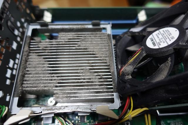 熱暴走PC清掃