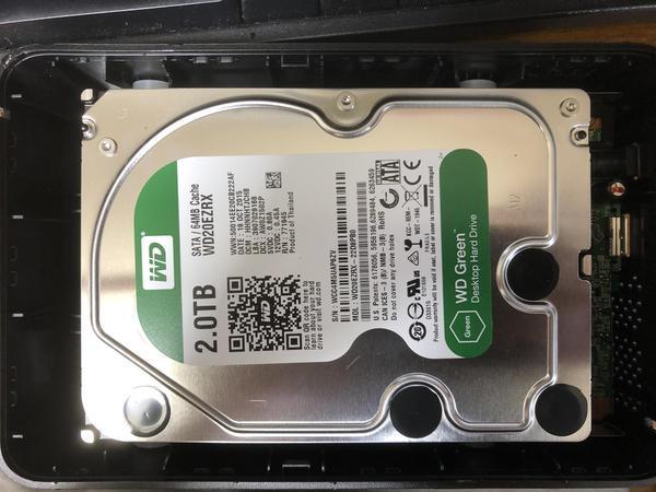 バッファロー外付けHDDからのデータ回収