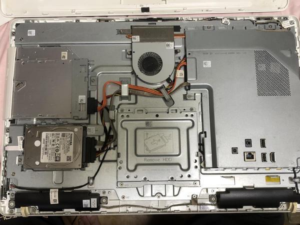 Dell Inspiron 22 Model3263 PC修理SSD換装