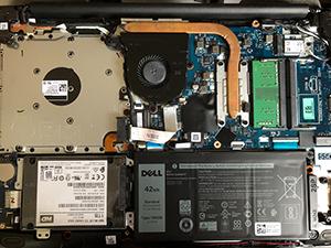 Vostro 15 3000 HDDからSSD換装